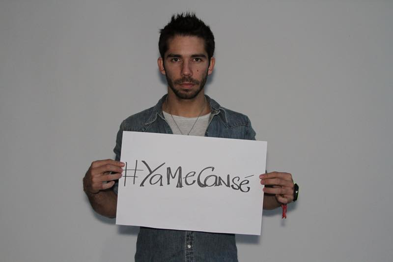 #YaMeCansé  http://t.co/sbmob3pAVe Me ayudan a difundir? No tengas miedo, somos muchos!!  Mañana #1DMX marchemos!!! http://t.co/69rSZU6GvR