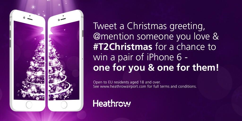 Spread some joy with T2Christmas for a chance to win! T&Cs apply-