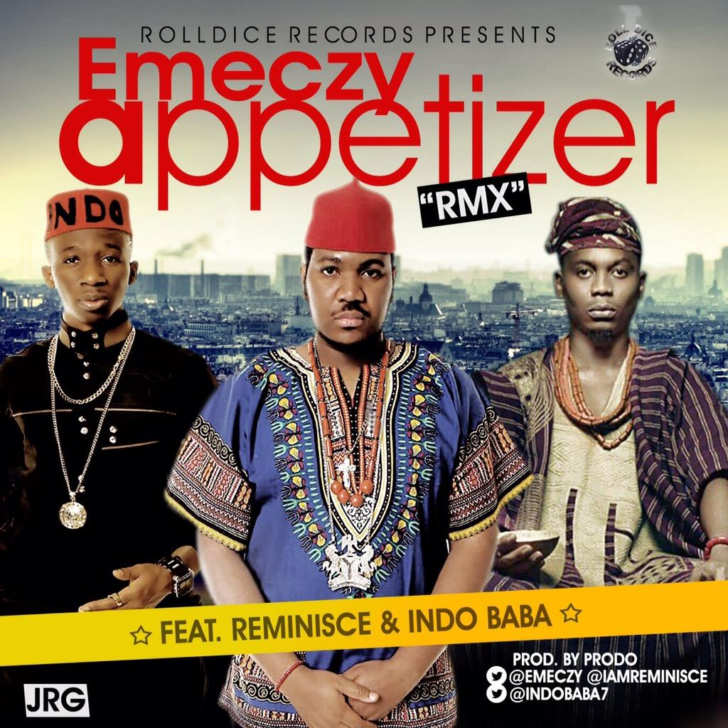 Appetizer Remix ft. @IamReminisce & @INDOBABA7 drops everywhere tomorrow. #AfroBeat #ClubBanger #Anticipate http://t.co/pZZfaFOj3Q