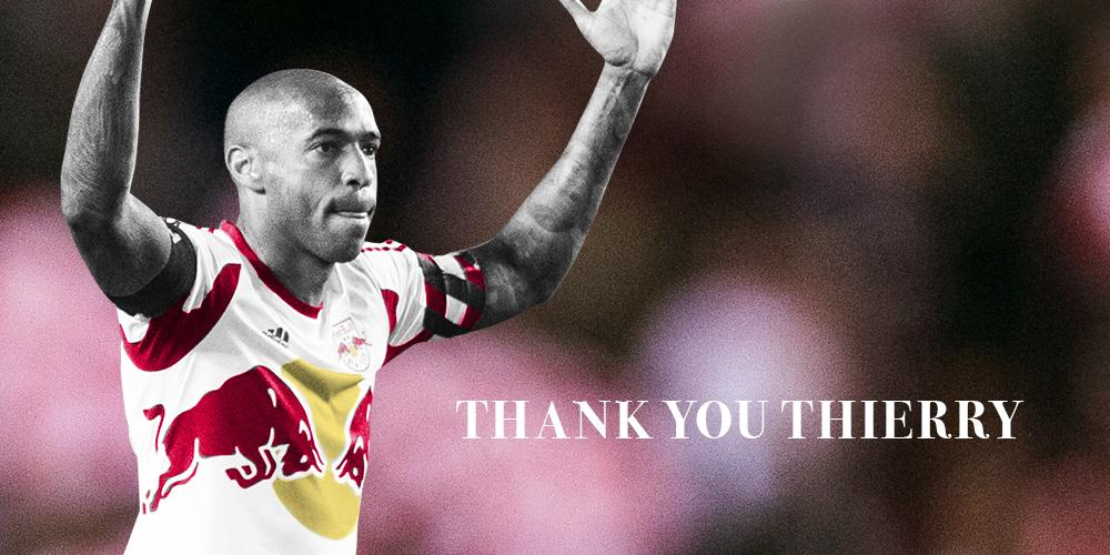 .@ThierryHenry officially announces he will not return to the club in 2015.  http://t.co/Kwub7fVDph #ThanksTH14 #RBNY http://t.co/mjOy5YKzEt