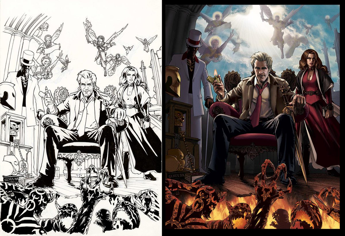 For the 1st time since 2010 I'm selling my art: Inks & Color Print of Constantine poster http://t.co/a7DmmF8KkS http://t.co/N42Gfuor76