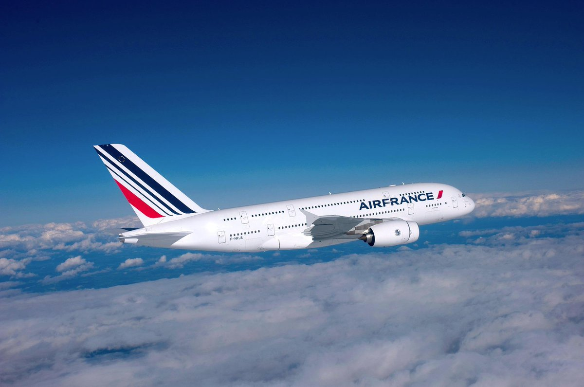 Bienvenue to MiamiAirport, @Airfrance A380! We can't wait for your arrival!