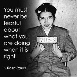 Dec. 1, 1955, #RosaParks refused to move to the back of the bus. For this, we're eternally grateful. #PureGREATNESS http://t.co/zuqXo6I3VA