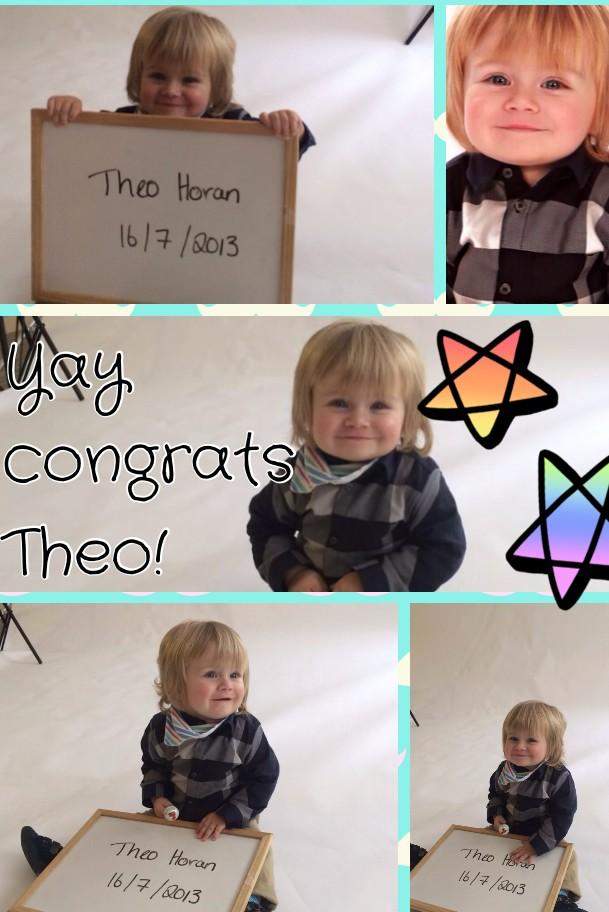 Congrats to our most famous young model @TheoHOfficial_ who booked his first job-I will let everyone know more ASAP