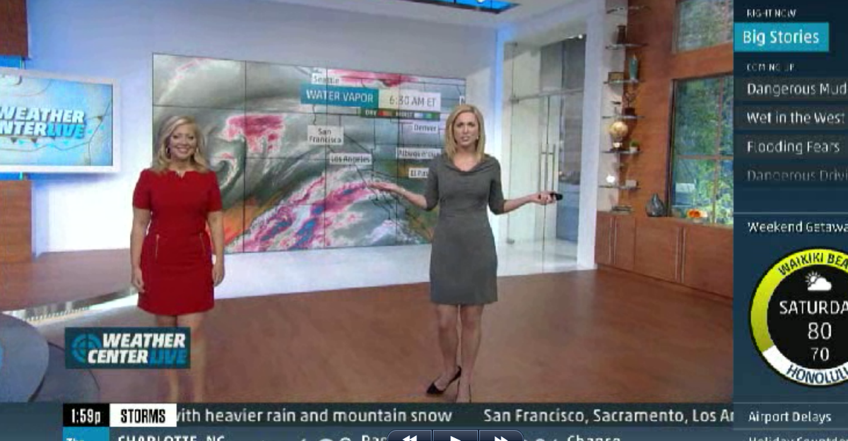 @TWCAlexWilson & I are live through 6pm on @weatherchannel #California #rain + #Midwest Chill coming up! http://t.co/GTsAsE9rvN