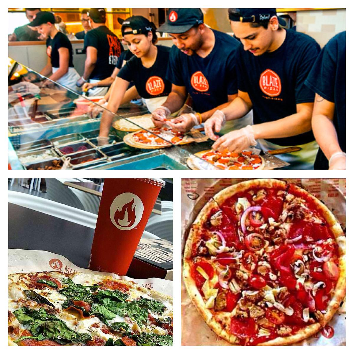 On 12/3 from 10am-9:30pm, receive FREE pizza at our @BlazePizza location if you show that you follow Blaze on Twitter http://t.co/x0sZVSb73f