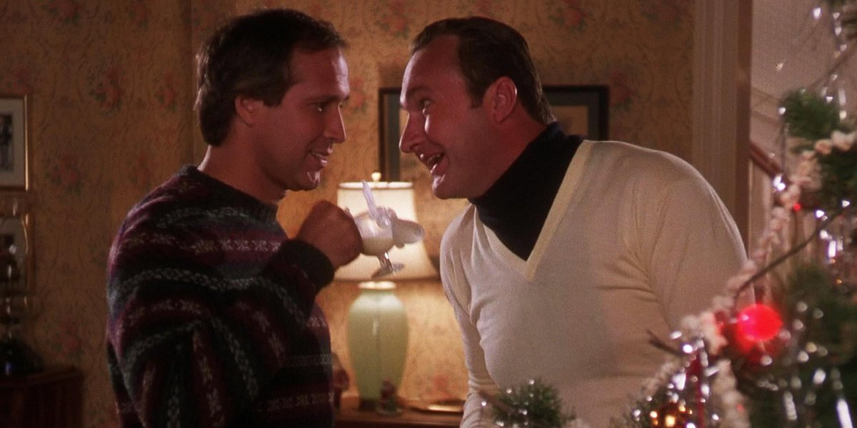 Can any outfit top Cousin Eddie's 'Christmas Vacation' see-through sweater /dickey - Can Any Outfit Top Cousin Eddie's
