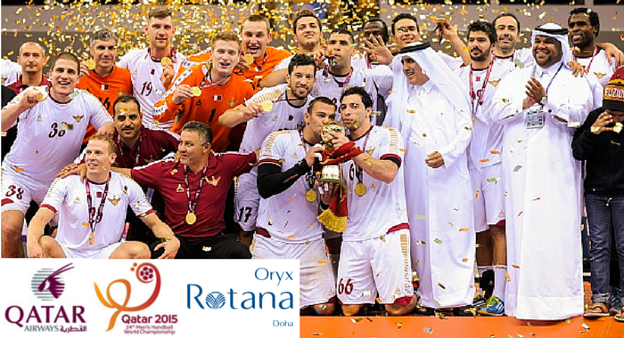 Create your Handball team with QatarAirways for a chance to watch the finals in Qatar.