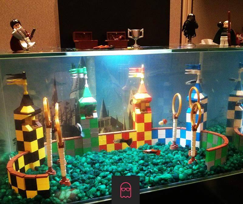 O aquário que todo fã de Harry Potter sempre quis ter. http://t.co/1xstzuqKKT