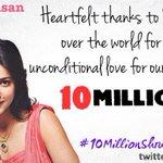 RT @ShrutiH_FC: We thank all the Shrutians for making our queen @shrutihaasan reach 10M likes on her FB page! #10MillionShrutiansOnFB http:…