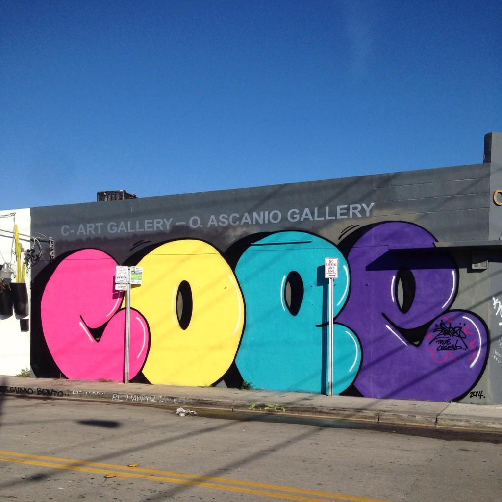 Cope2 rocks wynwood Miami 2014 @JuxtapozMag http://t.co/XOPGJnSLs4