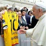 No estamos solos, estamos bendecidos por Dios y el Papa. http://t.co/ydRR2iq3Xl @Hincha_Amarillo