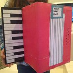 Of COURSE my daughter built a birdhouse shaped like an accordion. http://t.co/zfWQSw5yBm