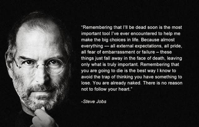 Steve Jobs on what really matters http://t.co/2XTCWFX6cq