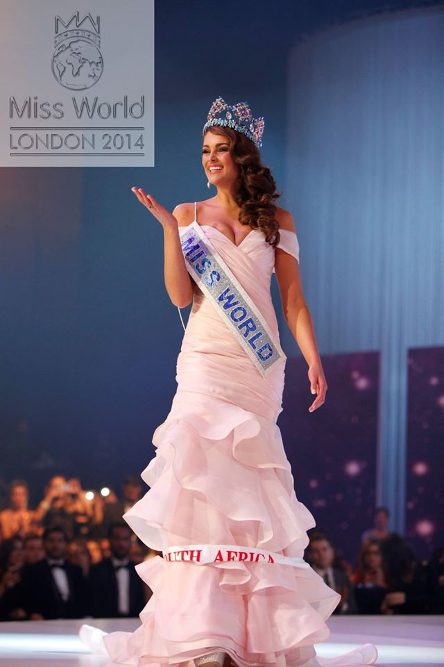 Massive congrats to @RoleneStrauss @MWSouthAfrica on her #MissWorld2014 win. You are awesome! #ProudlySouthAfrican http://t.co/VyTG6zpqMF