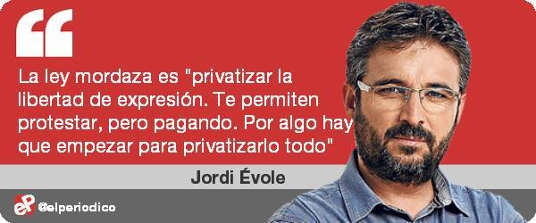 'Amordaza que no es poco', por @jordievole #opinion http://t.co/0g5eRURSIf