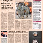 Take a look at the front page of the UK Financial Times - Mon, December 15: http://t.co/cN0qrdB0rS