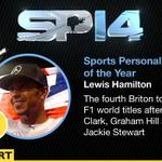 Lewis Hamilton is the winner of @BBCSPOTYfor 2014 http://t.co/WqZSLB0lNz #SPOTY http://t.co/NDV37ylKiN