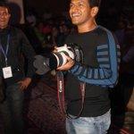 Kannada superstar #Puneeth Rajkumar gets candid with lensmen http://t.co/KPYnewq4HK