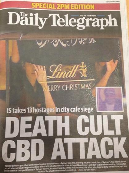 Daily Telegraph stoops to a new low. What a disgrace http://t.co/BXyODLSVit