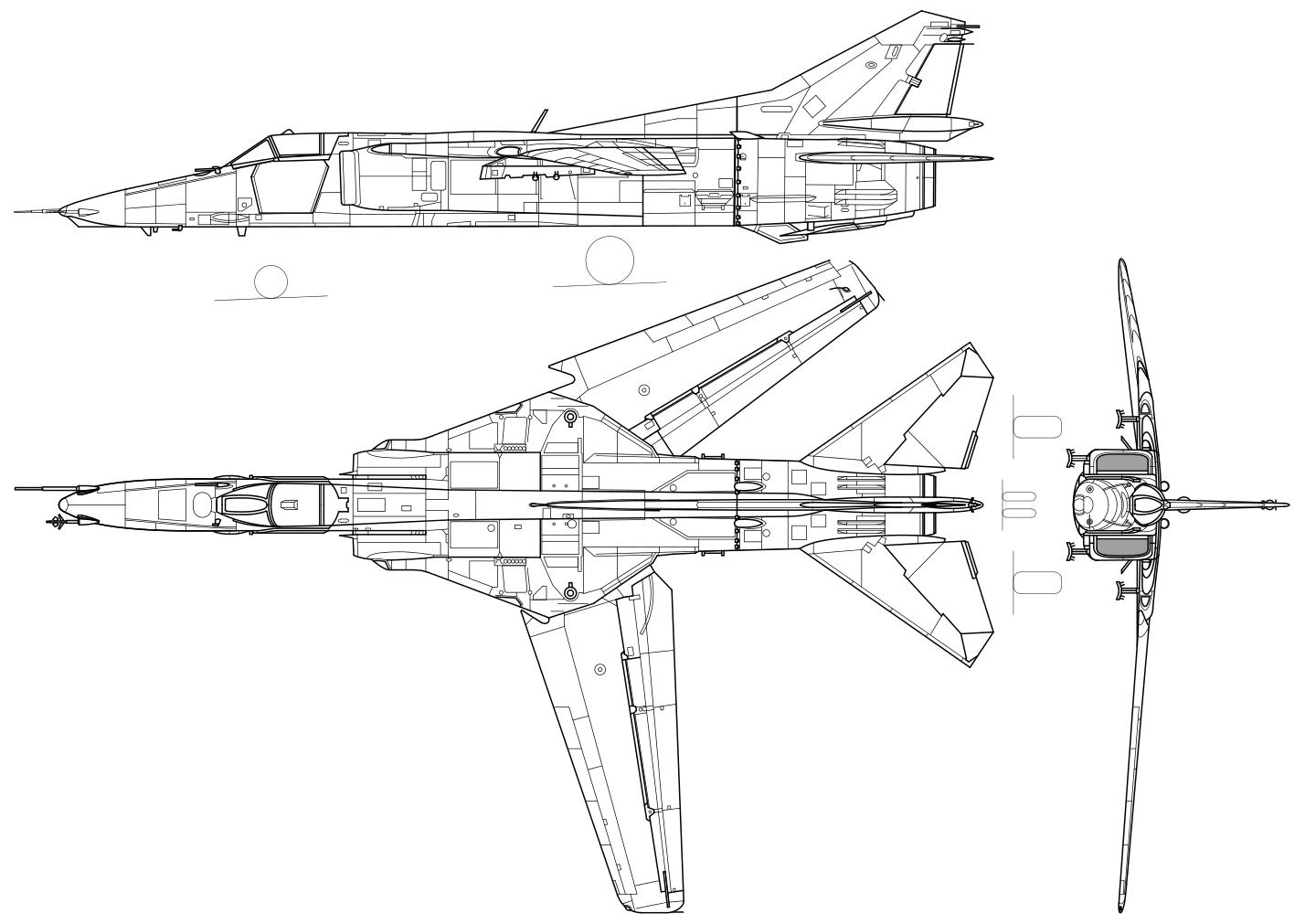 MiG-27 可変翼の戦闘爆撃機。なんと30mmガトリング砲GSh-6-30を搭載しているのだが、同じく30mmガトリング装備のA-10に比べてこの子の知名度の低さはどういうことなんですかね(憤怒)まあ実戦経験が薄いからしょうがないね http://t.co/w740ugJNId