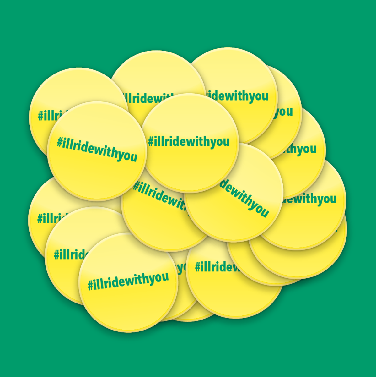Can someone help produce these badges to get out to the good #illridewithyou folk at stops and stations Aus-wide? http://t.co/VwdtmdLyQD