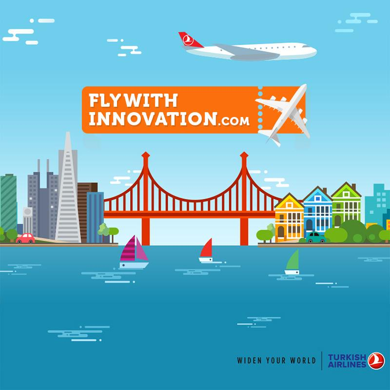 San Francisco is only a great innovative idea away! Visit and WIN a round trip to the city.