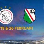 RT @AjaxSupport: We streven ernaar zo snel mogelijk te starten met de verkoop voor Ajax-Legia Warschau. Meer info volgt. #ajaleg #ajax http…