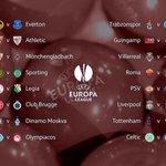 Het volledige overzicht van de 1/16e finale van de @EuropaLeague! #UELdraw http://t.co/tbDj40GekB