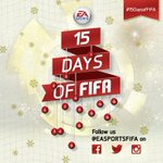 Be sure you're following @EASPORTSFIFA for #15DaysofFIFA. Cool giveaways everyday until December 25.