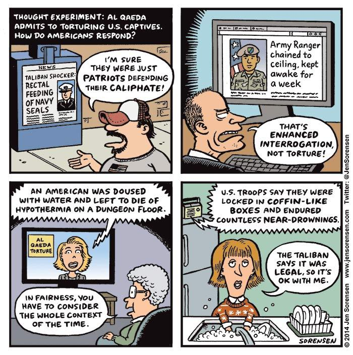 The tortured hypocrisy of US politics: http://t.co/x4RvUftGju  By @JenSorensen http://t.co/InsVeAAnpP