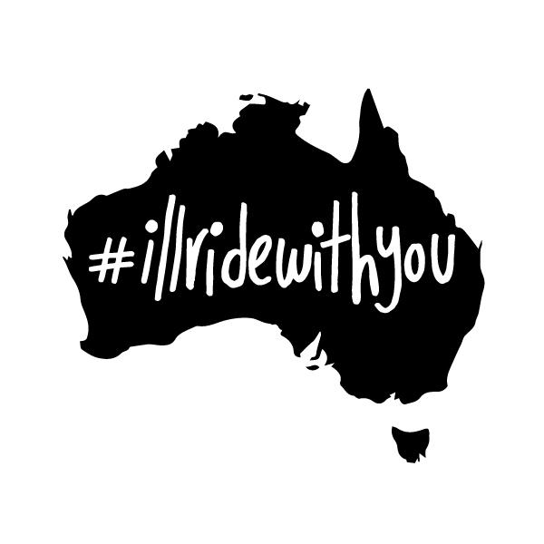 Share only peace and love. Australians got the right idea #sydneysiege #illridewithyou http://t.co/gTnkbwdSgV