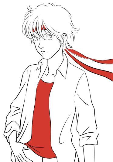 水玉さんに描いて頂いてとても嬉しかった赤々丸とめね田を。 http://t.co/nC5BT6J9Hd