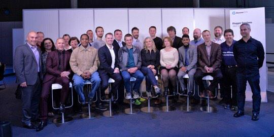 This is the awesome group of people I hung out with at #HPDiscover earlier this month. http://t.co/mReHUijcYf