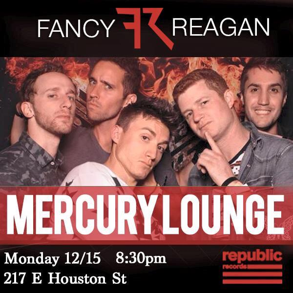 If anyone's free tonight, head over to @MercuryLoungeNY to catch @FancyReagan (@RepublicRecords) tonight. http://t.co/lNewFAnNzq