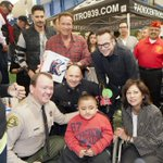 It was fantastic to be back at @hollenbeckpbc toy giveaway w/ @TomArnold (20 years now!) and @JoeManganiello. http://t.co/A4Gz3PnSPx