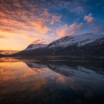 """Perfect pix! Norway! """"@NotableHistory: Beautiful reflections in Northern Norway, by Stian Klo http://t.co/e37bFamMQi"""""""