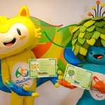 The Rio 2016 Olympic and Paralympic mascots' names are... http://t.co/HX8sSnScqM