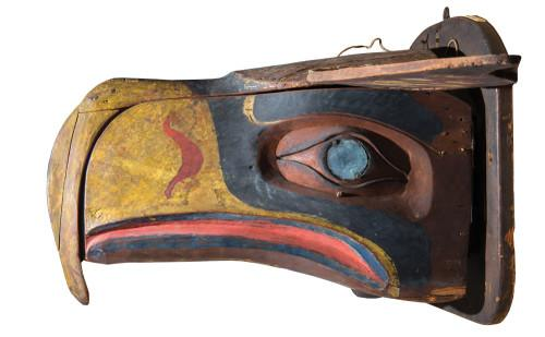 This is the mask that inspired the Seahawks logo—and you can see now it at Burke Museum. http://t.co/CVSmSK7Xgh http://t.co/SNNYZVdp99