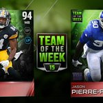 RT @EAMaddenNFL: New #Madden15 Team of the Week is now live, headlined by @AntonioBrown84 and @UDWJPP! http://t.co/Xuo9fF3lQv #MUT