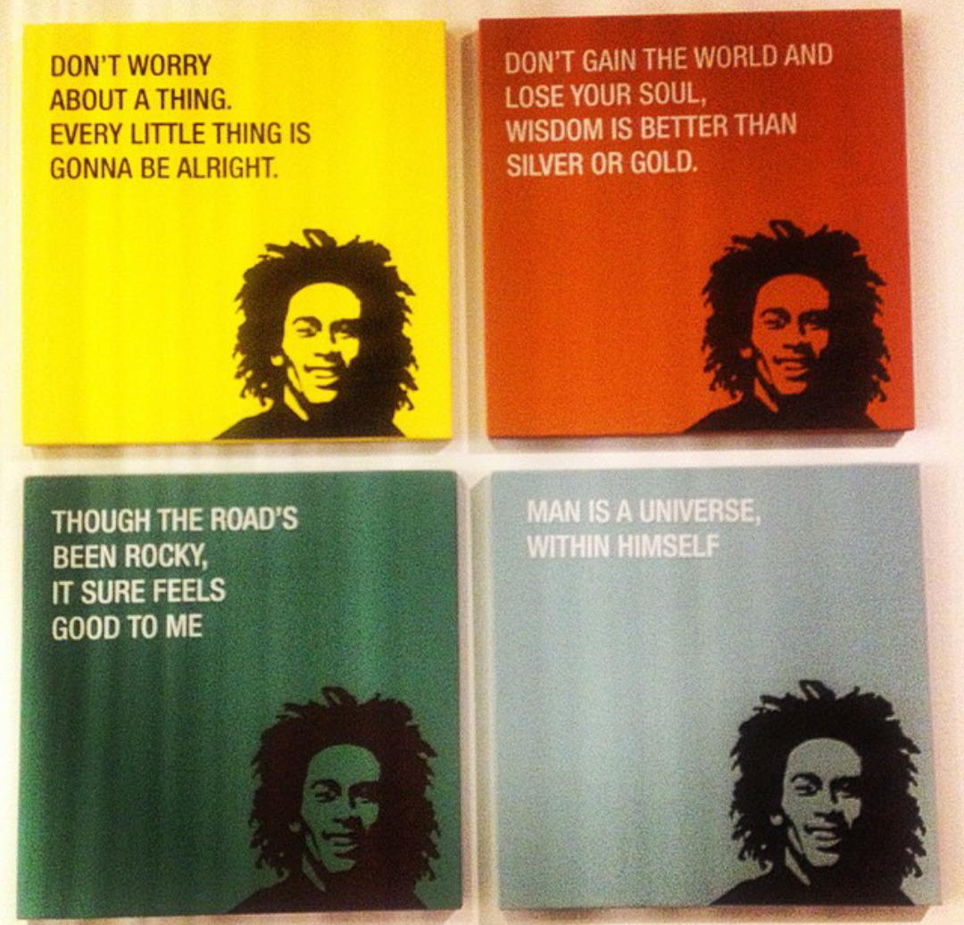Don't gain the world and lose your soul, wisdom is better than silver or gold. #MarleyCoffee http://t.co/DUTkcarljn