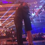 @LukeBryanOnline and @reba hugged in front of me #ACCAwards http://t.co/CqiKWengWa