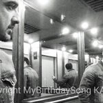Reflections this morning post shoot for #MyBirthdaySong @kahwafilms
