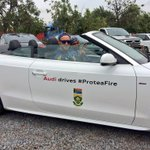 """""""@OfficialCSA: Thank you @audisouthafrica. @faf1307 & @robbie13flair can now style it up on the road as well http://t.co/qtkhm532kq"""" love it"""