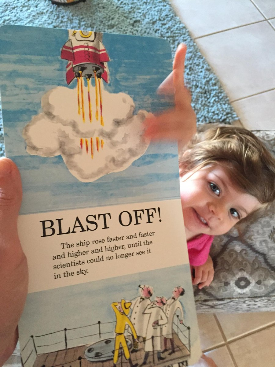 Scrub for #Orion, but Curious George still went to space today, at least at our house: http://t.co/OacZqnjH6Y