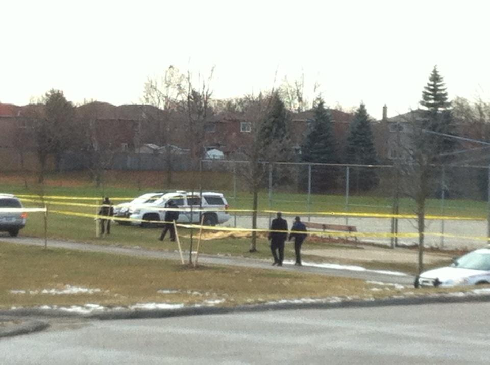 Body found behind Lester B Pearson public school in Ajax http://t.co/ofoz1TDSNv