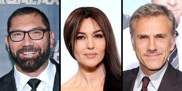 Meet the new faces joining the cast of the James Bond movie @007