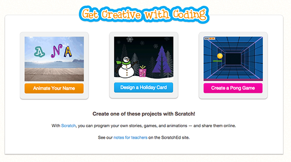 Check out creative ways to participate in #HourOfCode using Scratch! http://t.co/7eQENCfEya http://t.co/NjDzRUkBq3