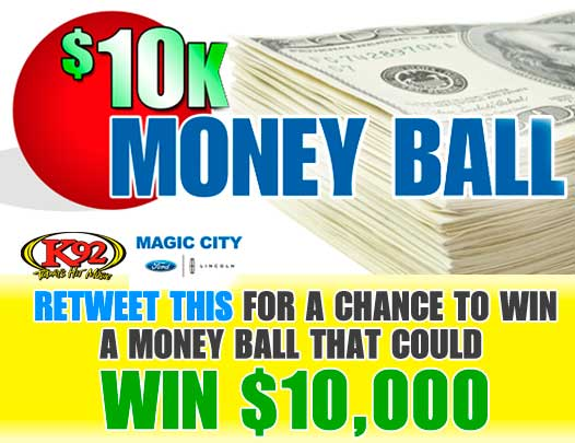 We're giving away THREE Money Balls on Twitter. Winners announced at 6pm. http://t.co/STrJ0LEU3O