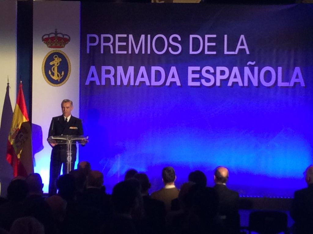 RT @Armada_esp: El Jefe de Estado Mayor de la Defensa (JEMAD), realiza el discurso de clausura de los #PremiosArmada 2014 http://t.co/8oIUnjwC7B